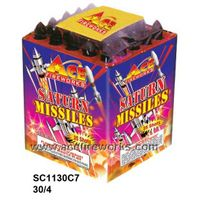 Missiles fireworks
