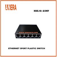 ETHERNET 5PORT PLASTIC SWITCH