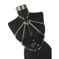 Hand made leather women harness belt, body harness thumbnail image
