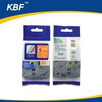 Compatible fluorescent orange printer ribbon P-touch TZ tape cartridge TZe-B21 thumbnail image