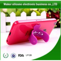 mobile phone factory wholesale silicone phone stand