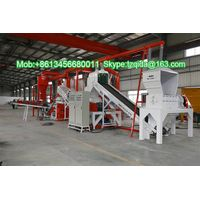 Radiator Recycling Machine Copper Aluminium Steel Separator