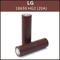 wholesale 18650 original battery 3000mah 3.7v li-ion rechargeable 18650 35a vape battery lg hg2