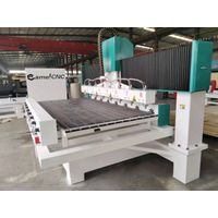 Multi Purpose CA-1225 Multi Heads CNC Router 4 Axis Wooden Chair Making Machine for Hot selling thumbnail image