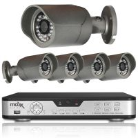 Maxx Digital Falcon 720p HD 4 x PoE IP Security Bullet Camera HDMI HDD CCTV Kit