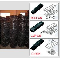 Bolt on rubber pad Clip on rubber pad Chain type pad Paver bolt on pad  track pads in GTW thumbnail image