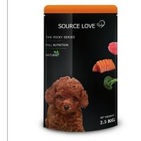 Beef flavor healthy dog food