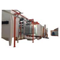 powder coating system in powder coating automatic plant