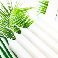Wholesale Candle Factory Making Stick Unscented White Candle