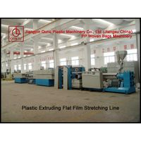 PP Woven Bag Machinery-Plastic Extruding Flat Film Stretching Line