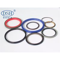 PTFE Hydraulic cylinder oil seal kit for excavator