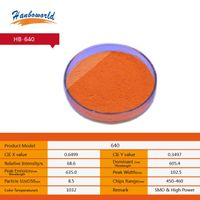 red phosphor powder for led lighting