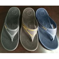 Wholesale Safety health care acupuncture fit massage pvc slippers thumbnail image