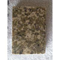 Forest green quartz slab countertop table top