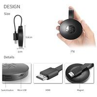 Newest UUvision Chromecast Display Dongle, WiFi Wireless 1080P Mini Display Receiver HD TV Miracast