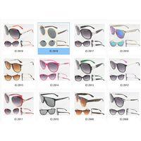 Retro round shape women plastic sunglasses vintage classic sun glasses thumbnail image