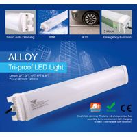 super bright Aluminum IP66 vapor tight light, CE&ROHS approved 40w, 5 years warranty