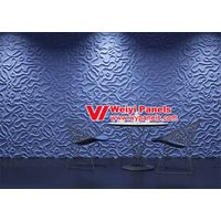 Wall Decor 3D Wall Panels-MDF Wave Boards WY-360