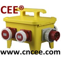 CEE portable Industrial distribution box