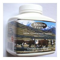 Sell New Zealand Chewable Colostrum Milk Tablets