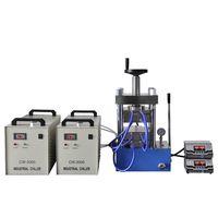 500°C Double Hot Plates Pellet Press