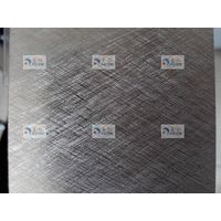 Brushed Aluminum Coil Crossed Pattern for Household Appliance Panel