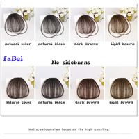 Wholesale High Quality Fashion Bangs,Hot Sale 100% Human Remy Hair Fringe Clip-in Hair Extension thumbnail image
