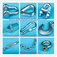 China manufacturer rigging hardware\wire rope clip