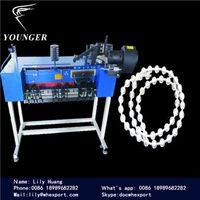 plastic Roller Blinds curtain string rosary beads Ball Chain making Machine