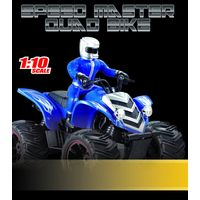 Remote Control Quad Bike - Super Fun Speed Master Remote Control Toy Quad Bike