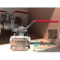 API607 Fire safe ball valve