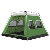 5-8 Person Hydraulic Automatic Outdoor Large Travelling Picnic Tent With 6 Windows H39
