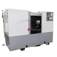 Automatic CNC lathe CK500L CNC turning center metal inclined bed thumbnail image