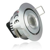 Flashmodol 1W LED Downlight, 10W Halogen Bulb, Recessed Downlighting, Daylight White