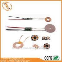 Many kinds of wireless charger coil with black ferrite