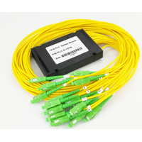 PLC Splitter, optical splitter, SC, ST, FC, LC connectors