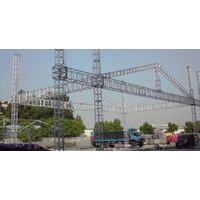 Annwa Best Selling Lighting Tower Truss Stage Roof Curved Truss System