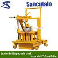 QT40-3C easy operate manual cement brick making machine thumbnail image