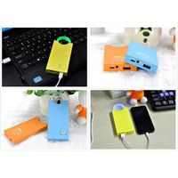 Li-polymer Power Bank, Dual USB Port Charger, Perfect for Phone