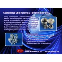 Custom made cold forged fasteners