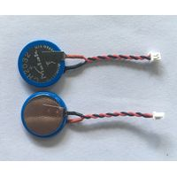 CMOS CR2032 Lithium battery & Button cell batteries with wire and connector