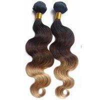 Three Tone Hair weft