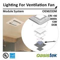 Lighting For Ventilation Fan (Module System-OEM/ODM) Oasistek