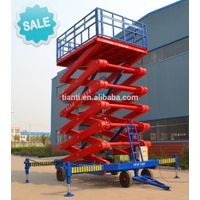 SJPT05-12 four wheel mobile elevating platform