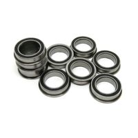 F6700RS 10x15x4mm Rubber Sealed Flanged Rolling Bearing F6700-2RS