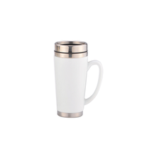 ceramic stainless steel mug