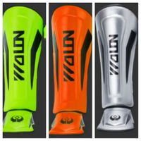 Leather Boxing shin pads.Muay thai leg protector