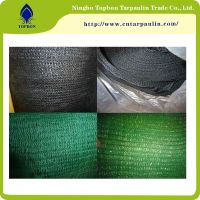 China factory greenhouse farming roof sun shade net for UAE market