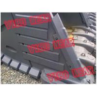 VIBO High chromium white iron Wear Bars and Blocks for Ore Mining machine parts