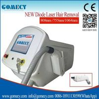 2015 Best Laser Hair Removal Machine laser 755nm/808nm/1064nm technology 3 in 1 machine Laser Diode